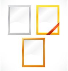 Set of frames vector