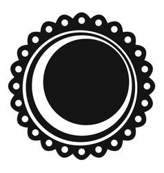 Tainga sweet icon simple style vector