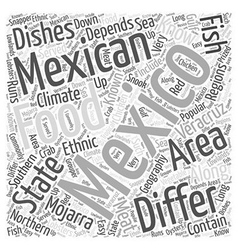 What is there to know about Mexican food Word vector image