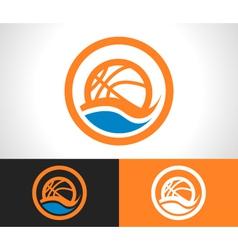 Basketball Logo Icon vector image vector image