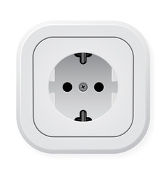 power outlet vector image vector image