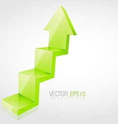 3d arrow vector