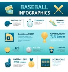 Baseball Infographics Set vector