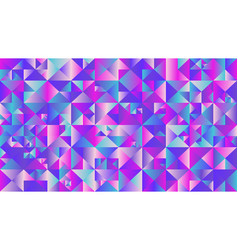 colorful geometrical polygonal triangle mosaic vector image