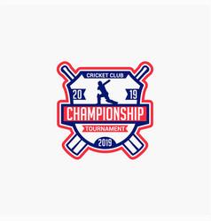 Cricket club badge logo-1 vector