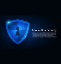 data protection information security abstract vector image