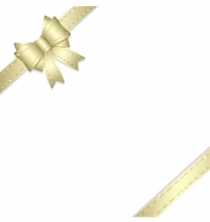 gift ribbon vector image