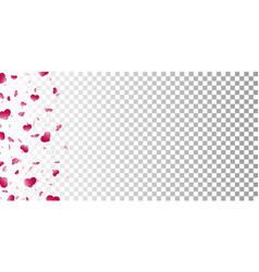 heart frame isolated white transparent background vector image