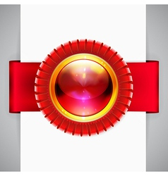 Loops label vector image