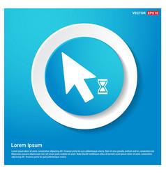 Mousecursor loading icon vector