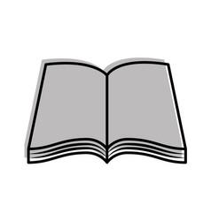 Text book school icon vector