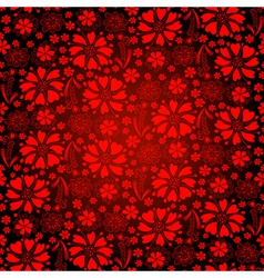 Seamless bright red background vector image