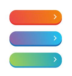 empty web button vector image
