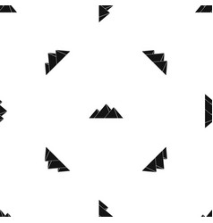 pyramids in giza pattern seamless black vector image