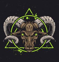Authentic zodiac sign concept vector