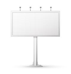 Blank billboard screen vector image