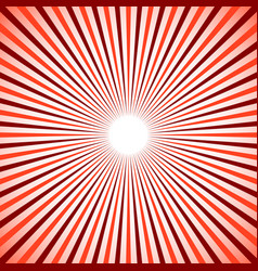 bright colorful radial radiating lines starburst vector image