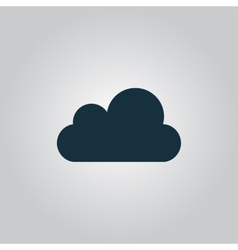 cloud icon Easy to edit vector image
