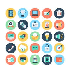Finance Flat Icons 3 vector