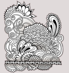 Hand drawn doodle vector