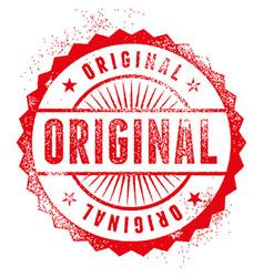 Original stamp vector