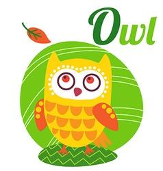 OwlLetter vector image