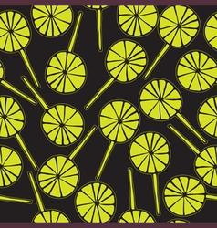 Seamless pattern lollipops vector