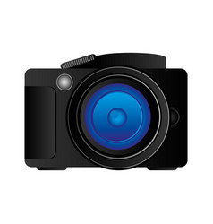 Technology professional camera icon vector