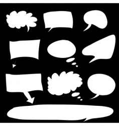 word bubble vector image