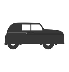 england classic car vehicle isolated icon vector image