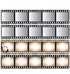 film strips vector image