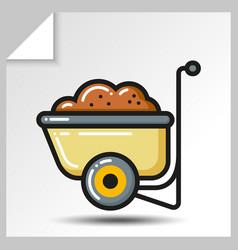 gardening tools 4 vector image