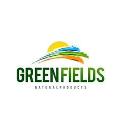 Green Field Logo vector image