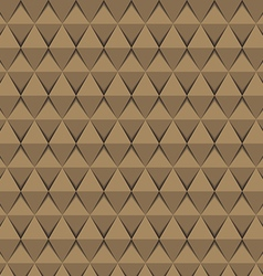 Abstract geometric triangle seamless pattern vector image vector image