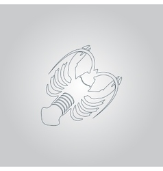 Crawfish vector
