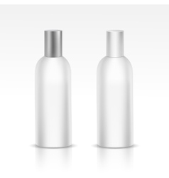 Isolated Blank Bottle vector image