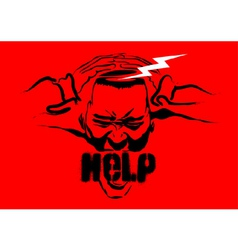 need help icon vector image