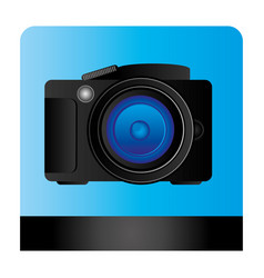 studio professional camera icon vector image