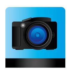 studio professional camera icon vector image vector image