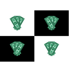three hundred dollars vector image