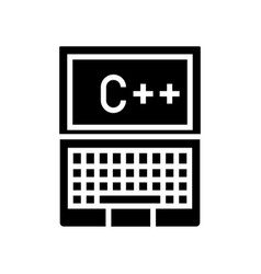 programmer notebook icon vector image