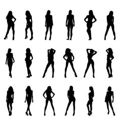 Sexy girls vector