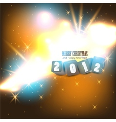 2012 glittering background vector