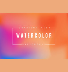 Abstract multicolored bright gradient mesh vector