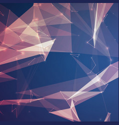 Abstract violet mesh background vector