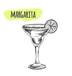 Bar menu of cocktail proposal vector image