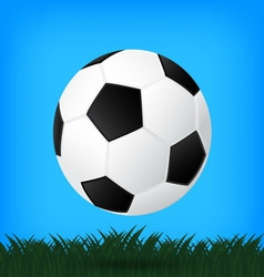 best soccer football isolated background vector image