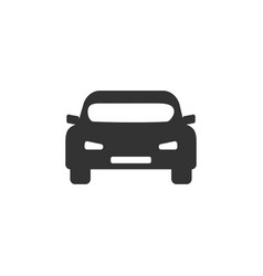 car icon flat design vector image