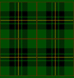 Clan forbes scottish tartan plaid seamless pattern vector