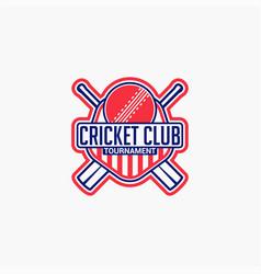 Cricket club badge logo-9 vector